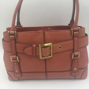 Maxx New York leather handbag